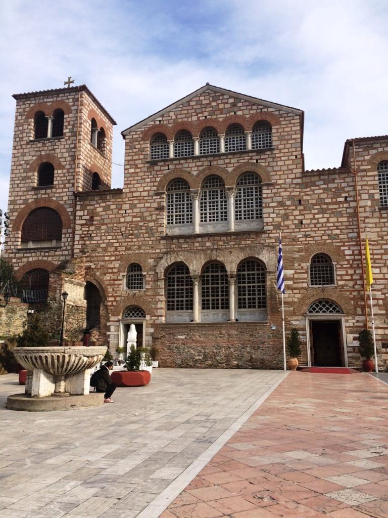 Agios Dimitrios Kilisesi-dışarıdan