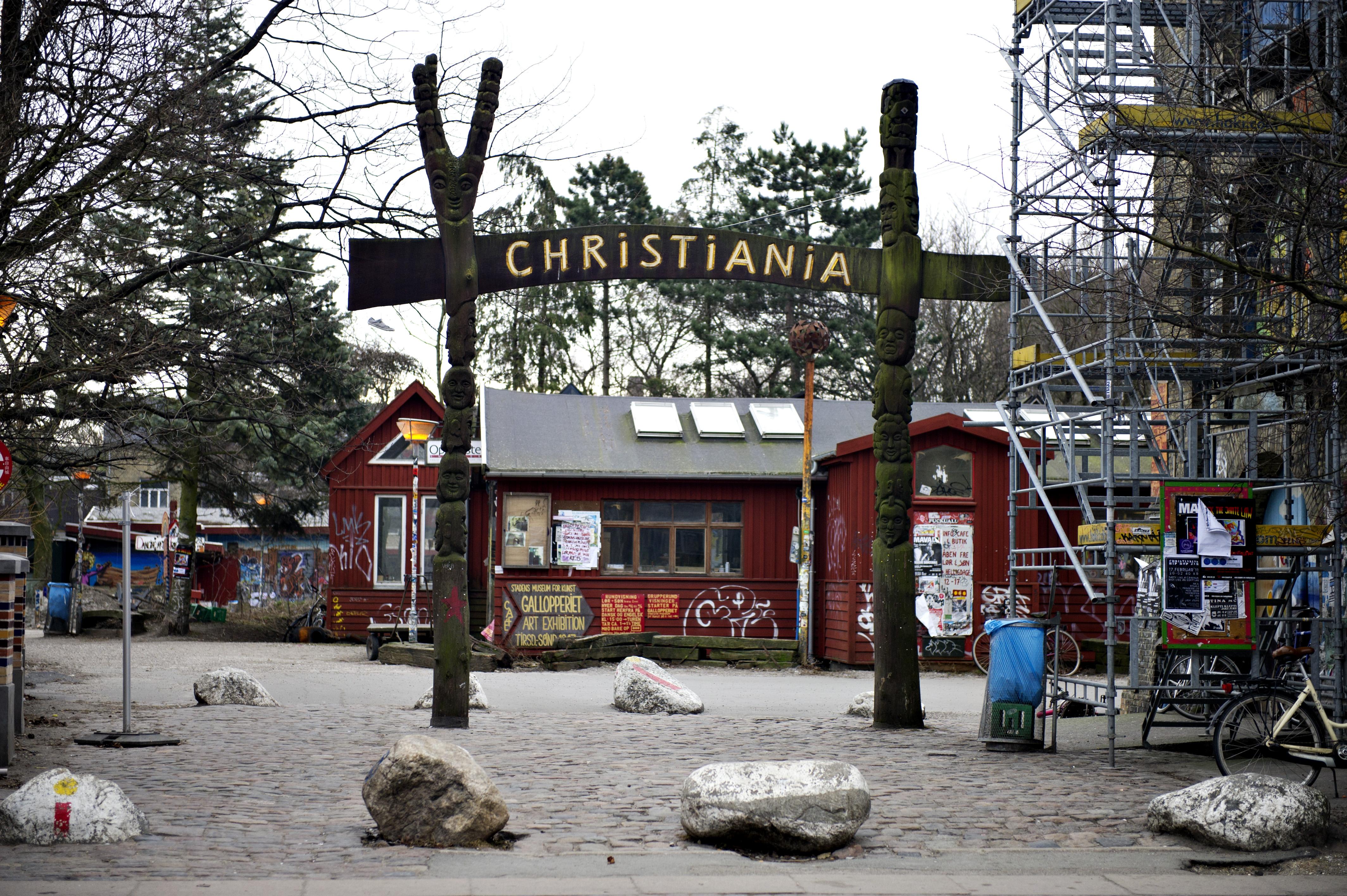 Billeder fra Christiania i forbindelse med, at der bliver afsagt dom i højesteret fredag den 18. februar.