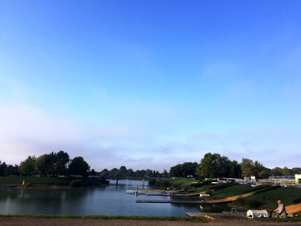 Jarun Gölü, Kano parkı